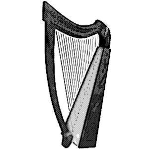 instrumentos musicales etnicos arpas