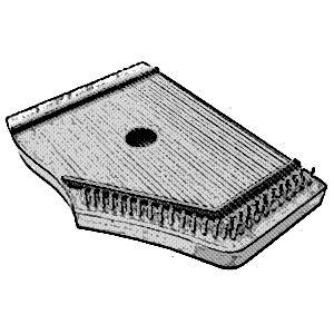 instrumentos musicales etnicos citaras