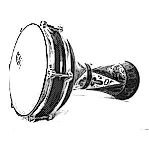 instrumentos musicales etnicos darbukas