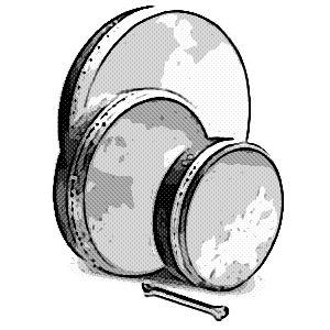 instrumentos musicales etnicos panderos