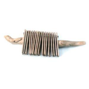 instrumento musical carraca animal