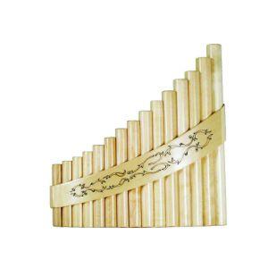 instrumento musical flauta de pan