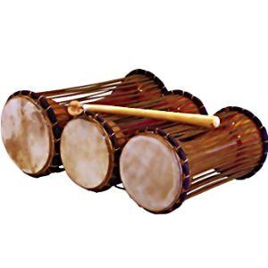 instrumento musical talking drum